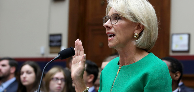 Betsy DeVos slammed for saying schools can choose to report undocumented students
