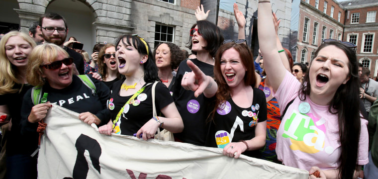 Ireland repeals abortion ban as 'quiet revolution' transforms country
