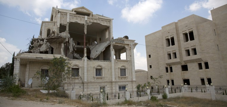 Amid Trump's Mideast push, an abandoned building reminds Palestinians of past failures