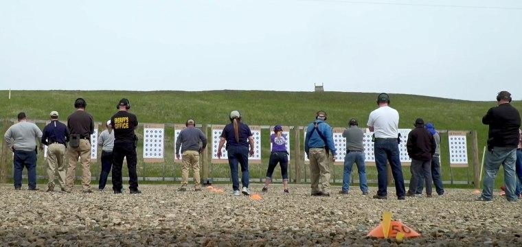 Teachers and guns: Inside a firearm training where educators learn to take down shooters