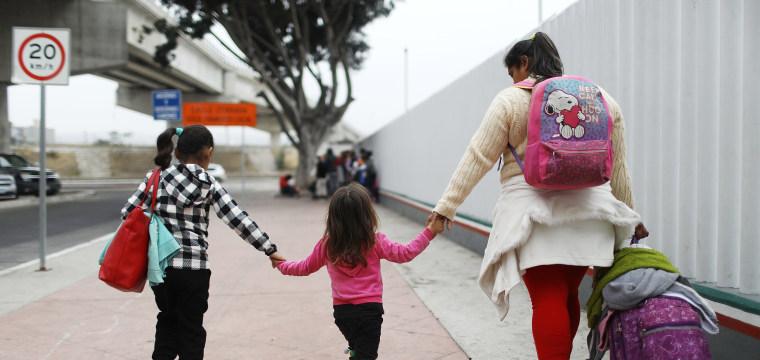 This Obama-era pilot program kept asylum-seeking migrant families together. Trump canceled it.