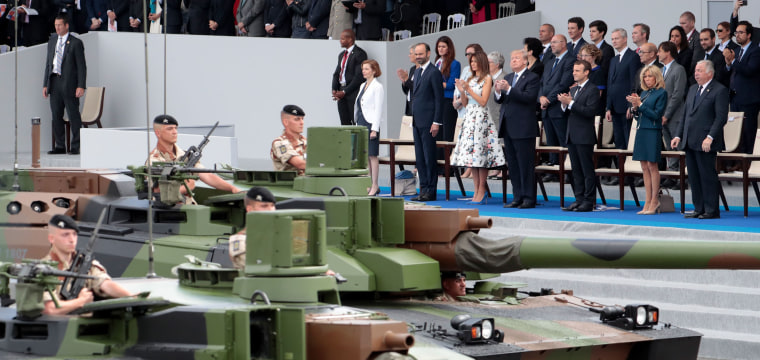 Trump's military parade in Washington may cost $92 million