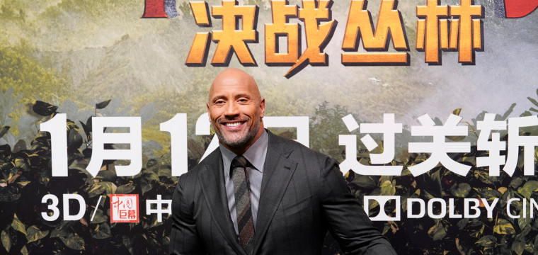 How Dwayne 'The Rock' Johnson rules the Chinese box office