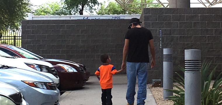 José was reunited with his son — but the 3-year-old is not the same