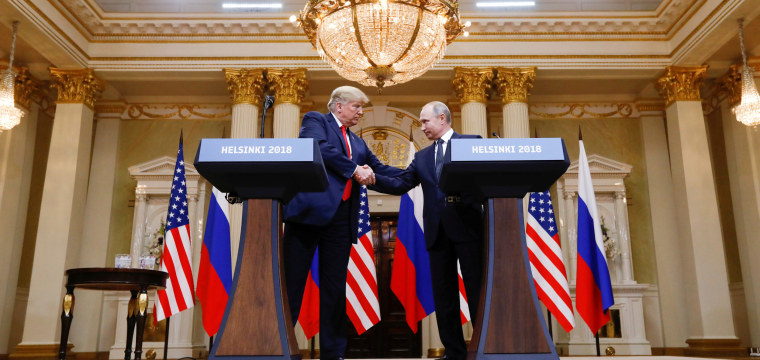 'Shameful,' 'treasonous,' 'disgraceful': Trump slammed from all sides for news conference with Putin