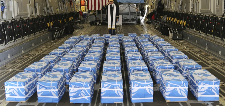 Trump identifies remains of two American soldiers killed in Korean war