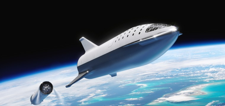 How SpaceX's huge 'BFR' spaceship for Mars has changed