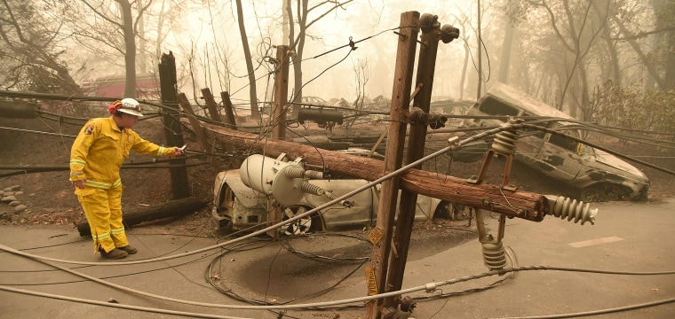PG&E shares plunge 30 percent after judge rules it could face $18B in damages for wildfires