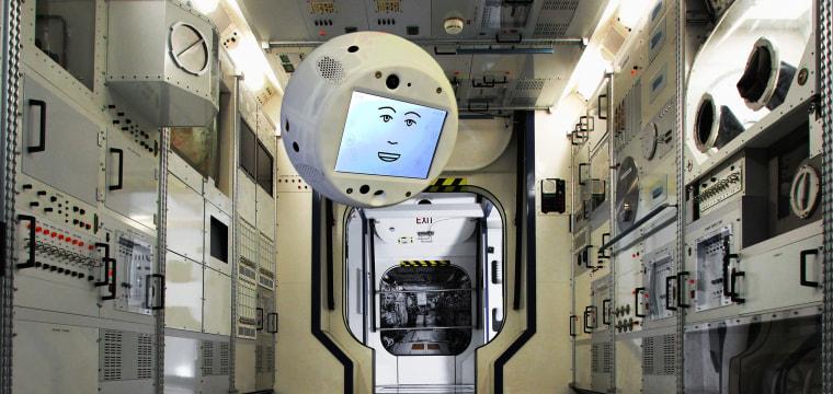 'Don't be so mean': CIMON the European space robot cops an attitude