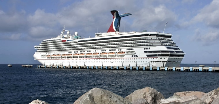 Coast Guard searches for man overboard from Carnival cruise ship in 'intentional act'