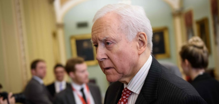 GOP Sen. Orrin Hatch walks back his 'irresponsible' comments downplaying claims against Trump
