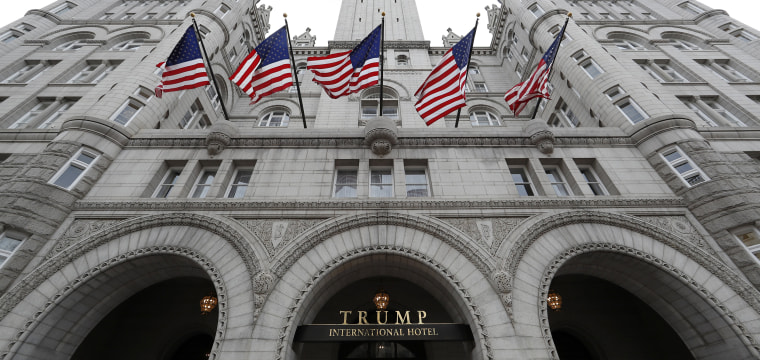 IG report rips gov't for punting on possible Trump emoluments violation tied to his DC hotel