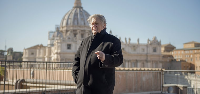 Steve Bannon and U.S. ultra-conservatives take aim at Pope Francis