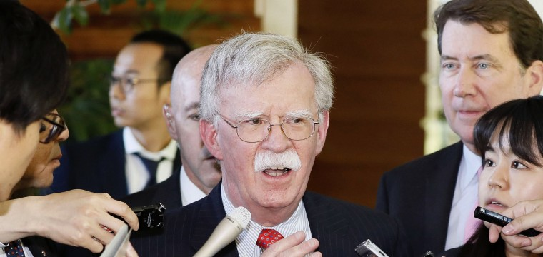 Bolton calls North Korea missile tests a violation of U.N. resolutions