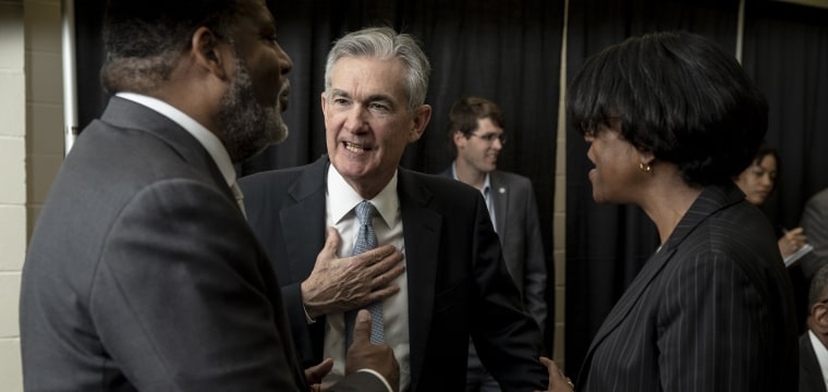 Trump says he never threatened to demote Fed head Jerome Powell, but has the 'right' to do so