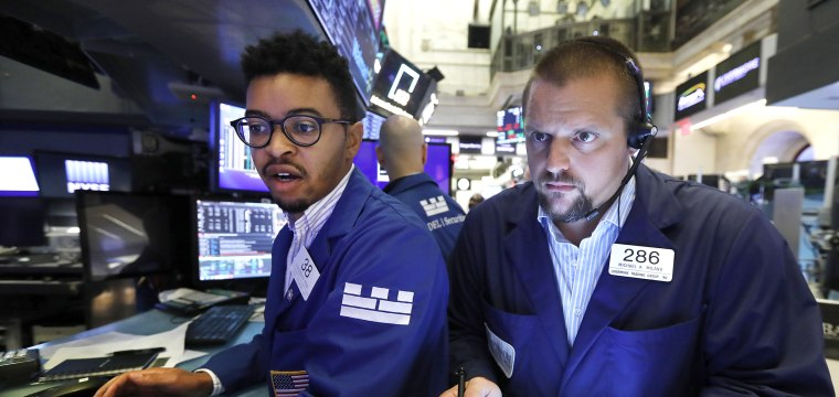 Dow climbs 300 points as bond yields jump from historic lows