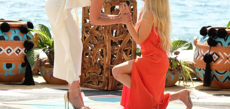 'Bachelor' franchise gets its first same-sex proposal