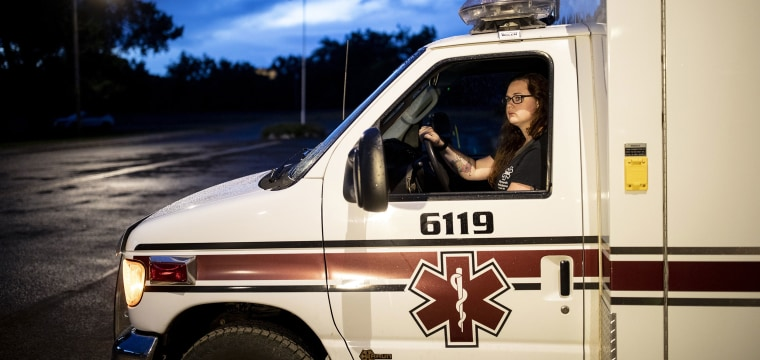 There's shortage of volunteer EMS workers for ambulances in rural America