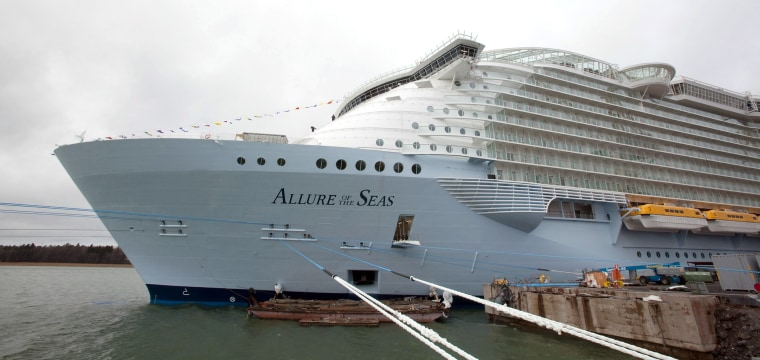Cruise passenger banned for life after standing on ledge for photo