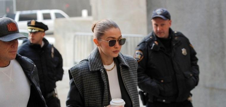 Gigi Hadid dismissed as juror in Harvey Weinstein rape trial