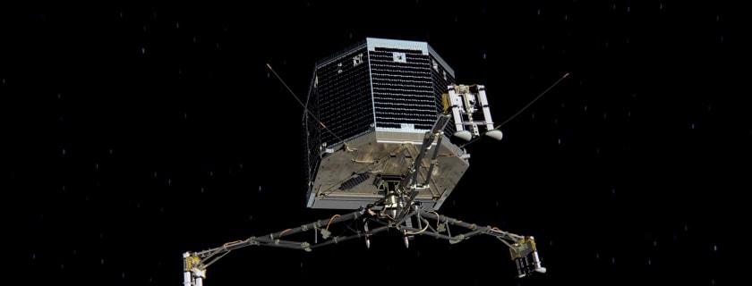 Rosetta Images Show Philae Lander Bouncing Across Comet