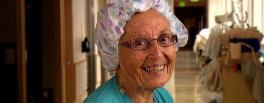 Inspiring America: Meet America's Oldest Working Nurse