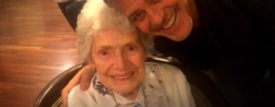 George Clooney Surprises Elderly Fan For Her Birthday