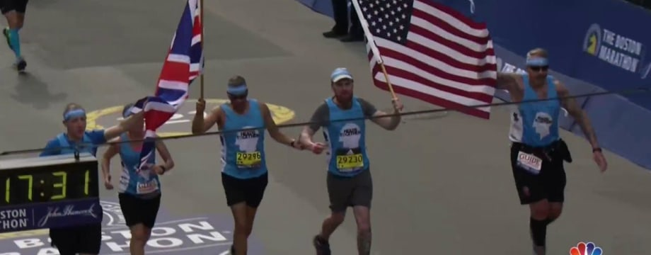 Meet Two Military Veterans Running Marathons to Fight Stigma Against Mental Health