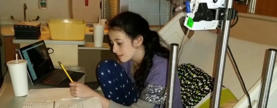 Young Girl Turning Suffering Into a Solution for Other Sick Children