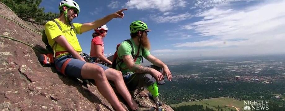 Inspiring America: Adaptive Climbers Help Each Other Reach New Heights