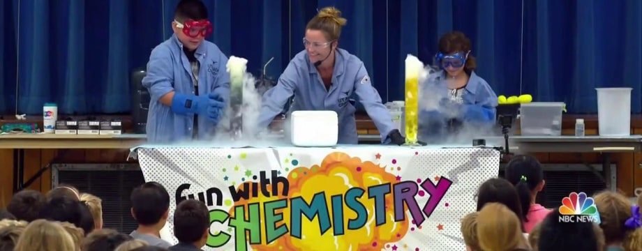 Teacher Makes Chemistry Fun With Exploding Experiments