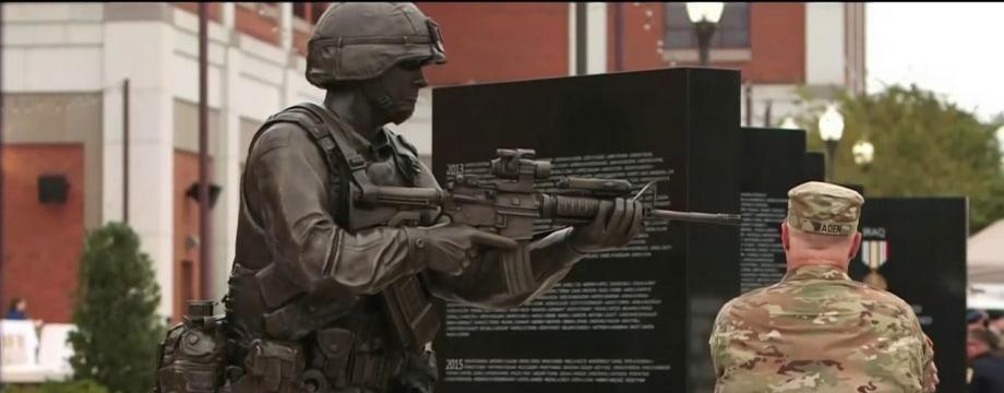 Global War on Terror Memorial Honors U.S. Soldiers