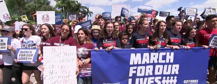 Students demonstrating for change at March for Our Lives echo past movements
