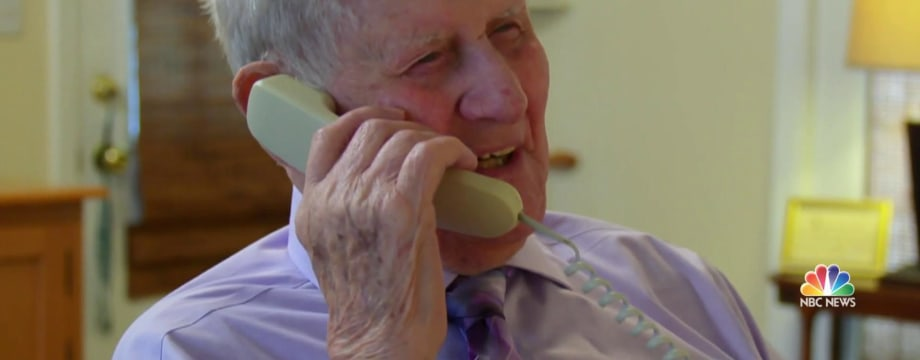99-year-old spreads joy with daily birthday phone calls
