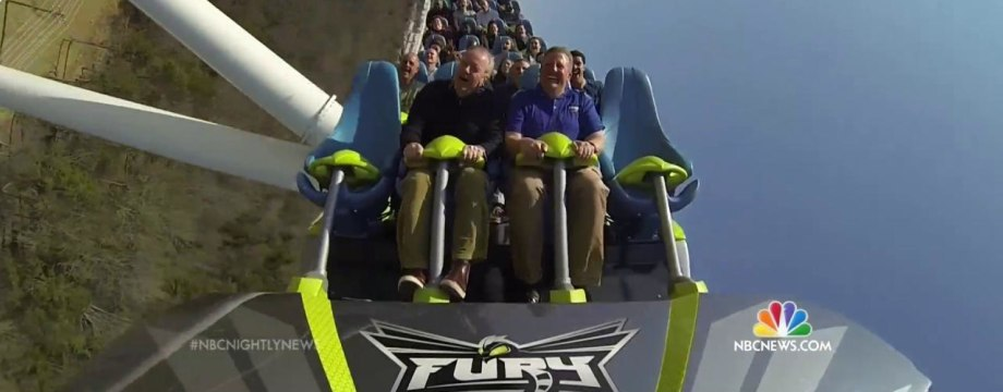 Take a Ride on the Fury 325, the World's Tallest Giga-Coaster