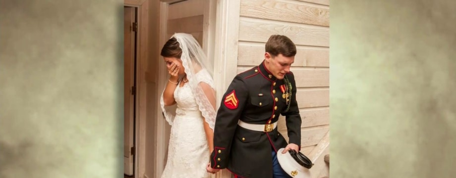 Praying Couple Share Story Behind Viral Wedding Photo