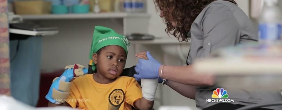 Courageous Boy Receives World's First Double Hand Transplant