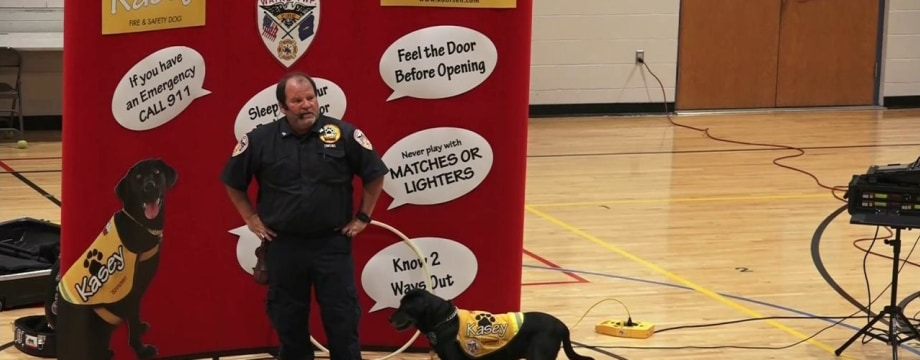 These Dogs Are Teaching Kids How To Be Ready For Fires
