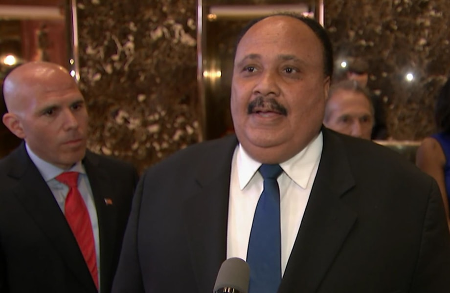 Martin Luther King III Visits Trump at Trump Tower