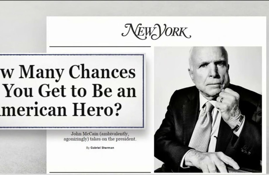 Why is Opposing Pres. Trump Complicated for Sen. McCain?