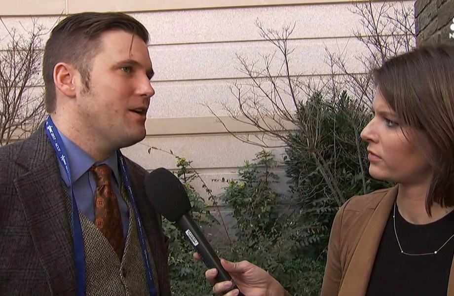 White Nationalist Richard Spencer Reacts to Being Kicked Out of CPAC