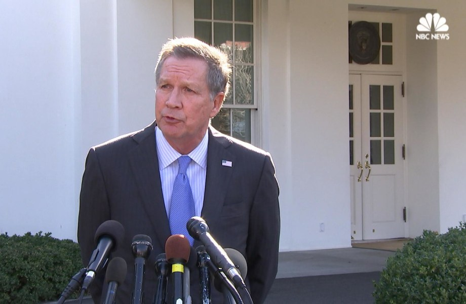 Kasich After Trump Meeting: If You're on a Plane, You Root for the Pilot