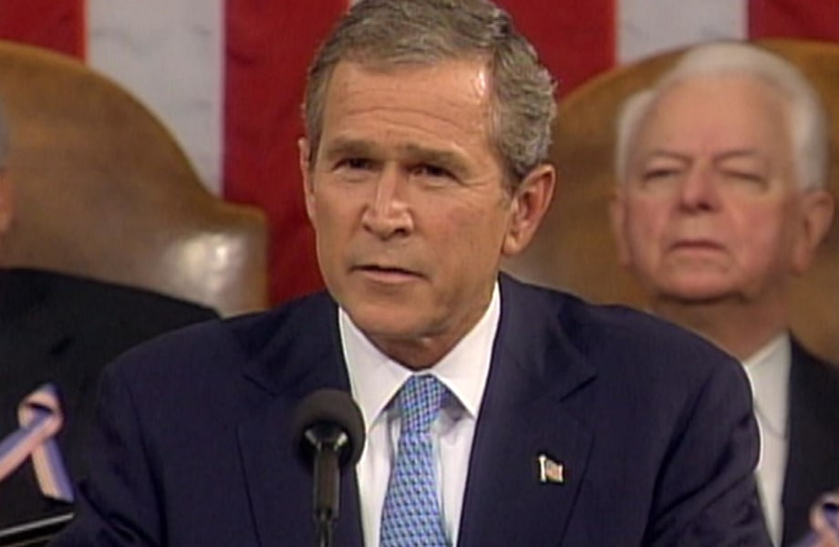 2001: President Bush Addresses Congress Twice With Two Different Tones