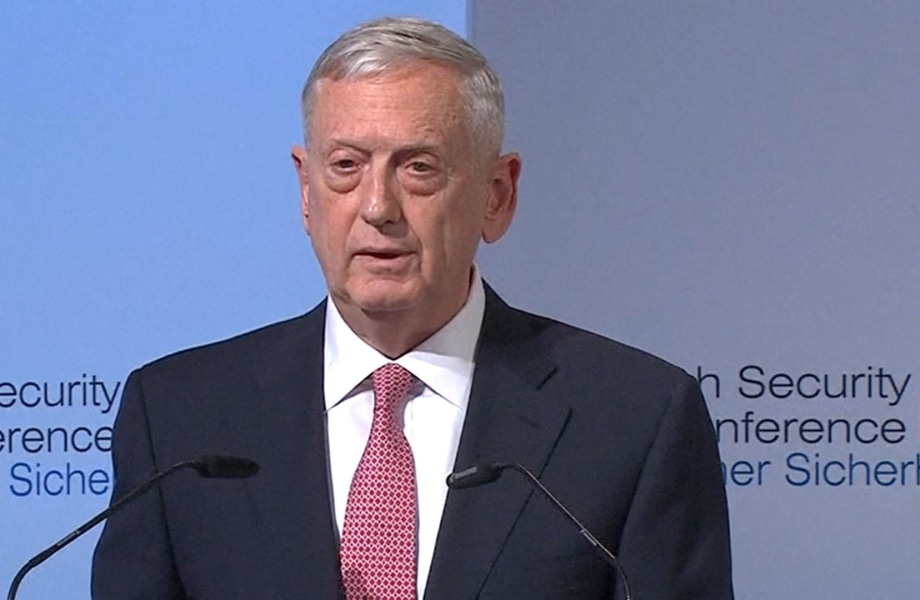Mattis: NATO Threatened by 'Arc of Instability'