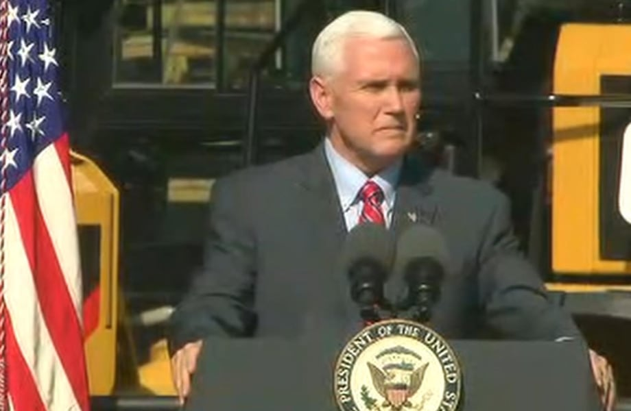 Pence Condemns Jewish Cemetery Vandalism During St. Louis Visit