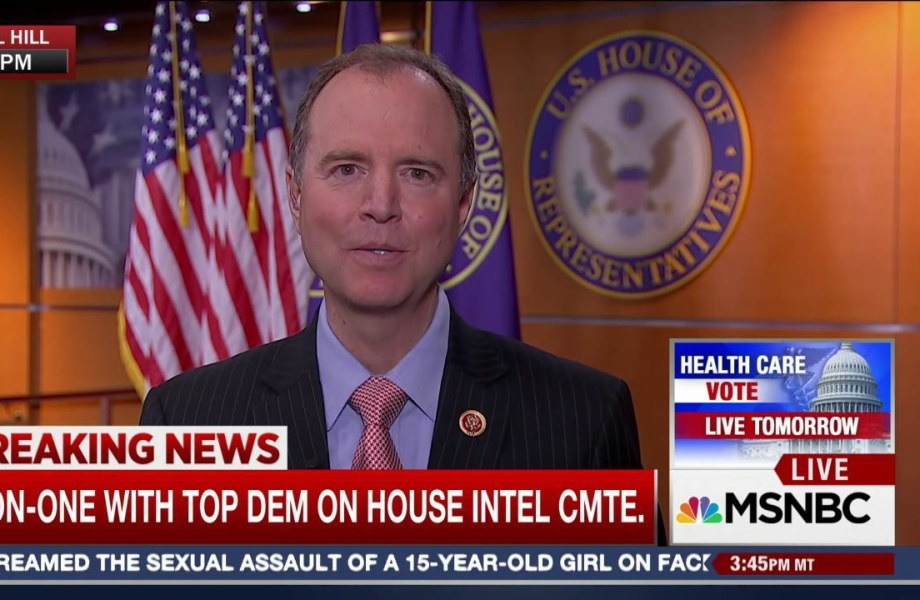 Schiff: 'More Than Circumstantial Evidence' of Trump/Russia Connection