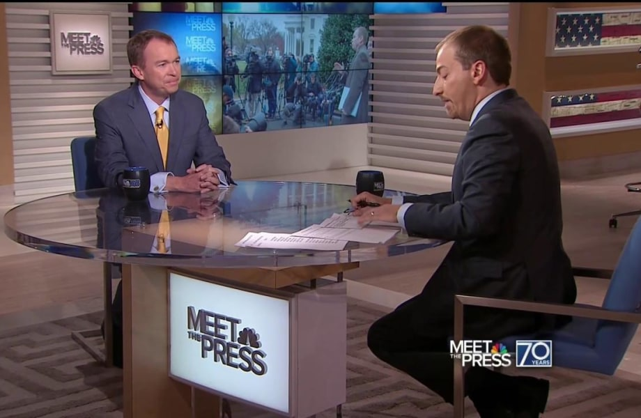Mulvaney: DC 'a Lot More Broken' Than Trump Thought