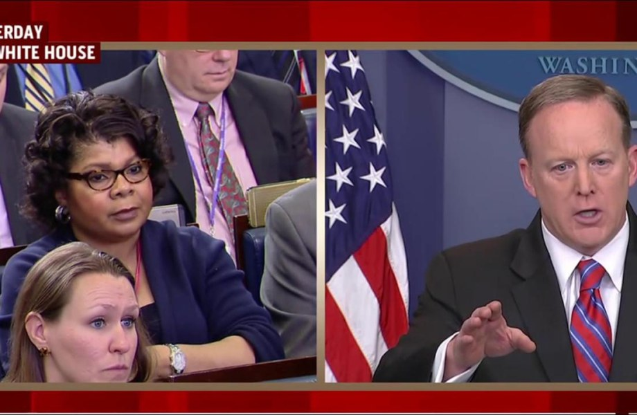 'What is wrong with him?': MJ reacts to Spicer briefing