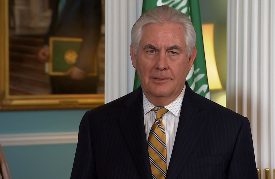 Rex Tillerson Finally Answers One of Andrea Mitchell's Questions
