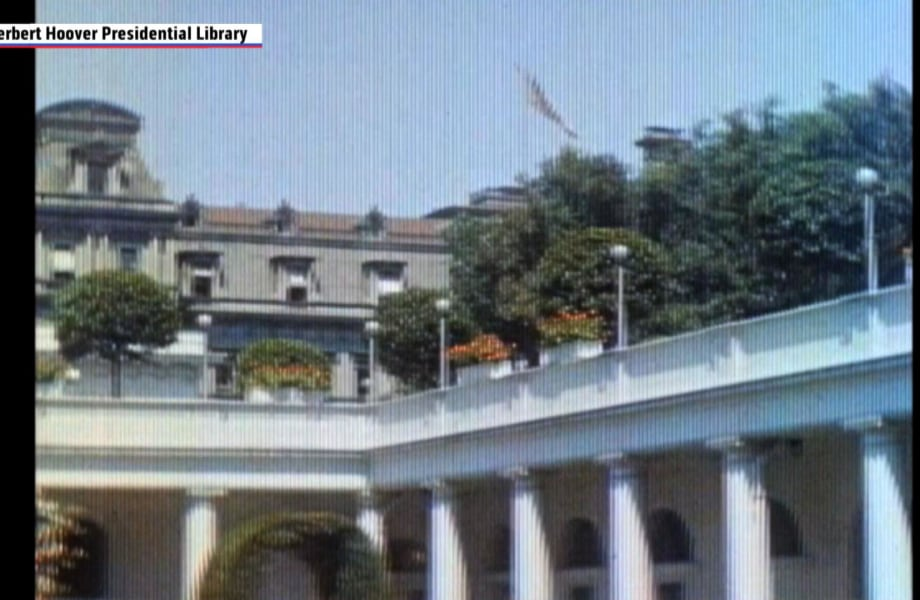 White House in Color:  Footage From the 1930's Has Resurfaced
